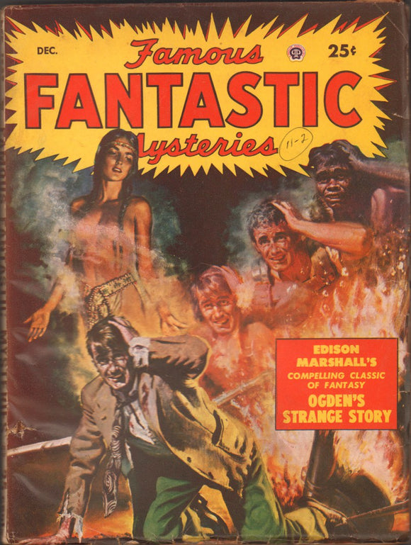Famous Fantastic Mysteries Volume 11 Number 2