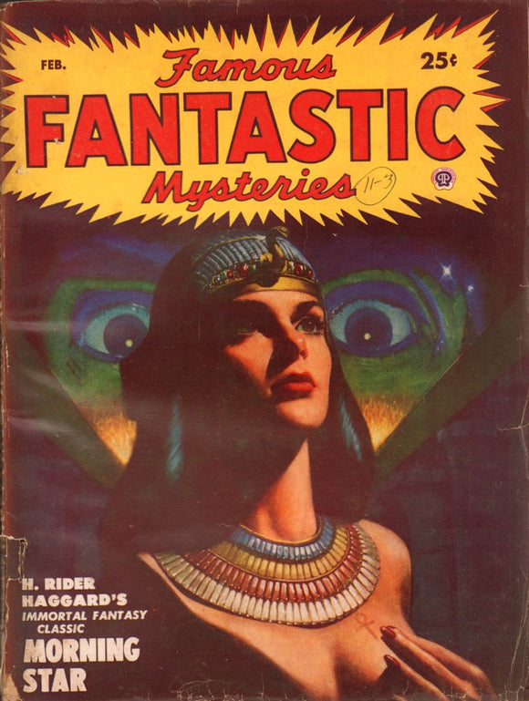 Famous Fantastic Mysteries Volume 11 Number 3