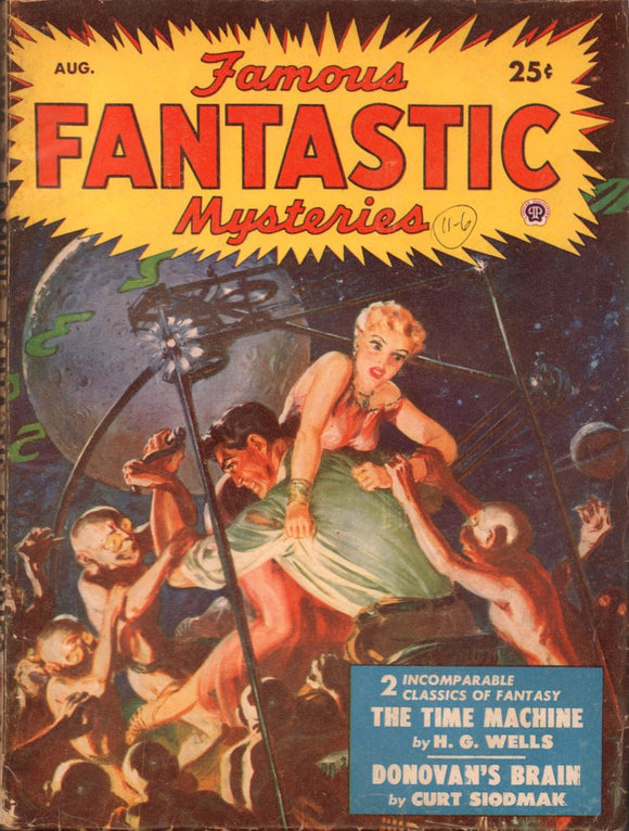Famous Fantastic Mysteries Volume 11 Number 6