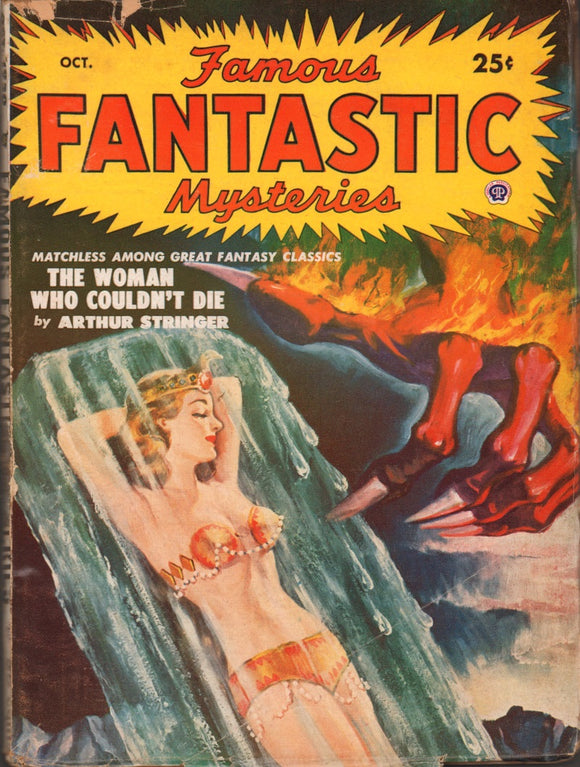 Famous Fantastic Mysteries Volume 12 Number 1