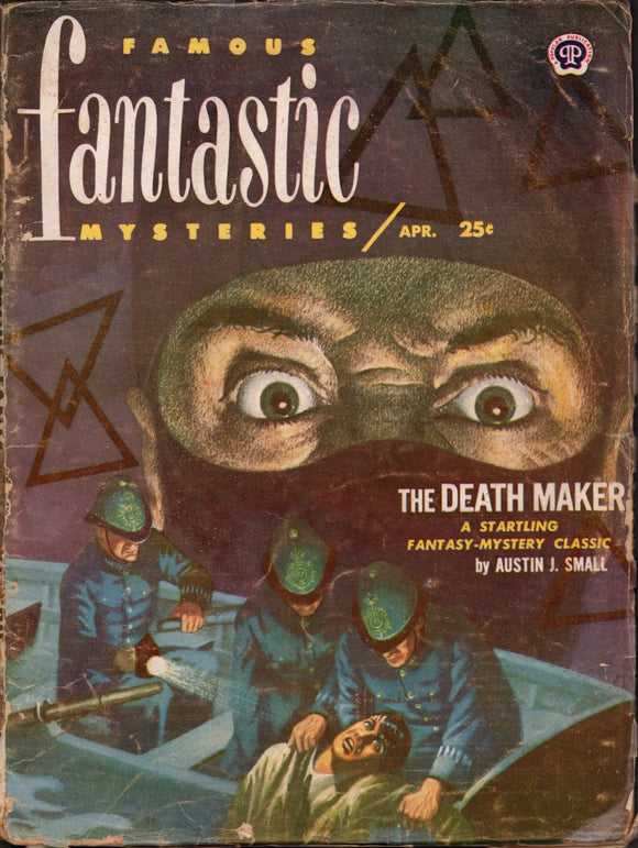 Famous Fantastic Mysteries Volume 13 Number 3