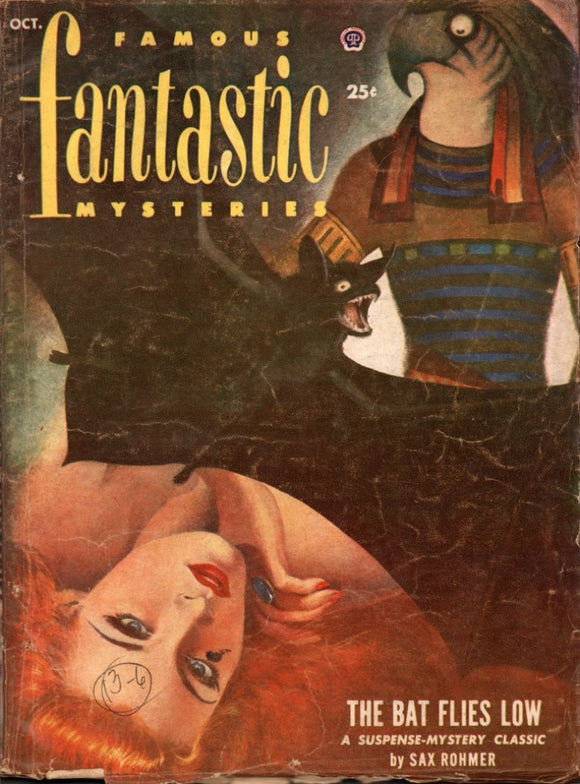 Famous Fantastic Mysteries Volume 13 Number 6