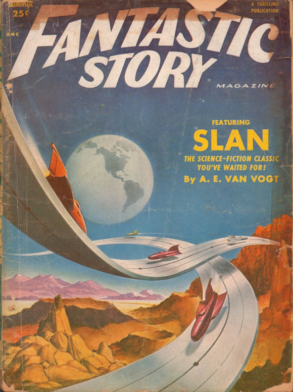 Fantastic Story Magazine Volume 4 Number 1