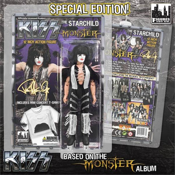 KISS 12IN RETRO AF S4 MONSTER STARCHILD FEATHER VAR