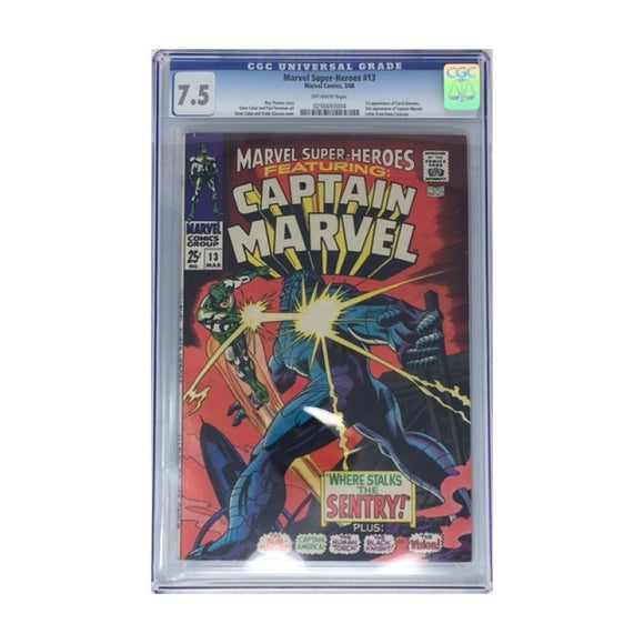 MARVEL SUPER-HEROES #13 CGC 7.5 1ST APPEARANCE OF CAROL DANVERS