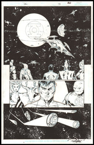 Rob Hunter and Billy Tan Page 20 of 'Battle of Wills' from Green Lantern #31