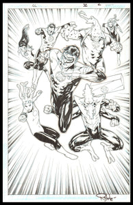 Rob Hunter and Billy Tan Page 2 of 'Sea Change' from Green Lantern #32