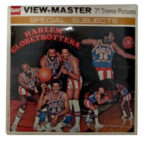 Harlem Globetrotters Sealed View-Master Vintage