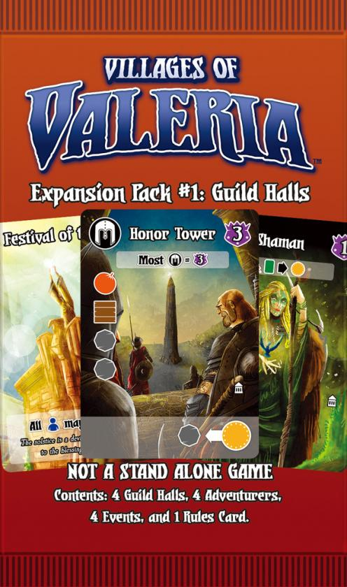 VILLAGES OF VALERIA: EXPANSION 1 GUILD HALLS