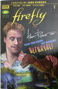 Firefly #1 EC Exclusive Variant - Adam Riches SIGNED