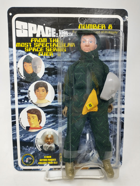 SPACE 1999: NUMBER 8 RETRO 8-IN ACTION FIGURE