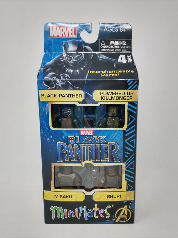 Black Panther MCU Minimates 4 Pack