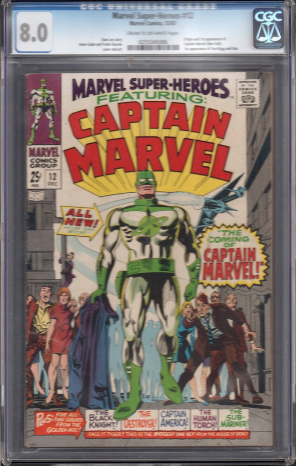 MARVEL SUPER-HEROES #12 CGC 8.0