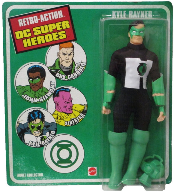 WORLDS GREATEST DC HEROES KYLE RAYNER RETRO AF 8IN