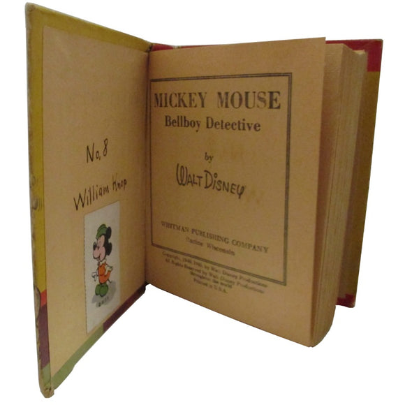 Better Little Book: Mickey Mouse Bell Boy Detective