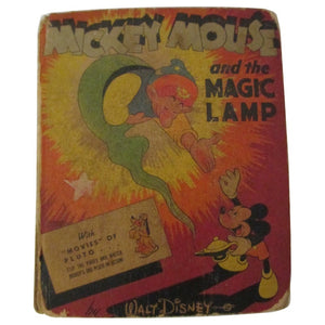 Better Little Book: Mickey Mouse and the Magic Lamp