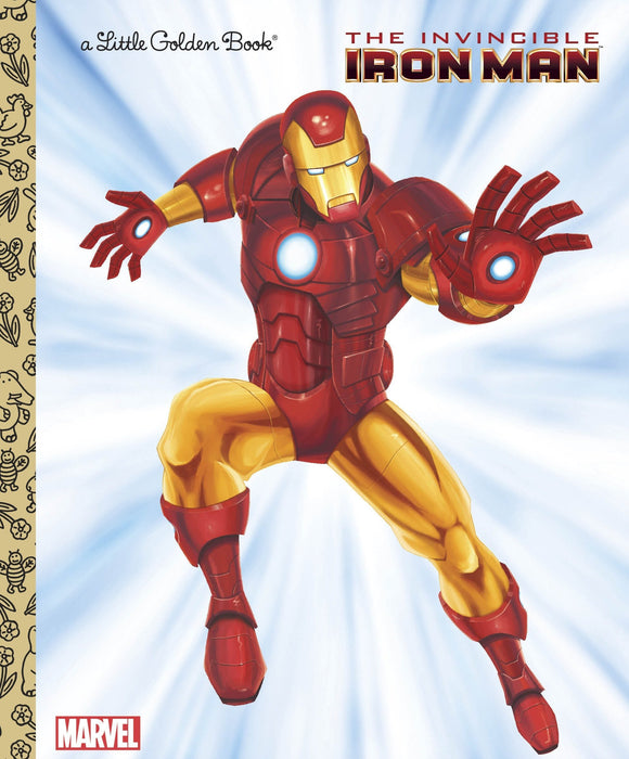 MARVEL INVINCIBLE IRON MAN LITTLE GOLDEN BOOK