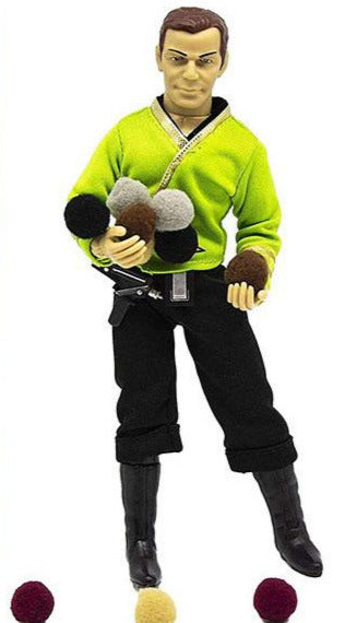 MEGO STAR TREK CAPTAIN KIRK TRIBBLES 8-IN RETRO AF
