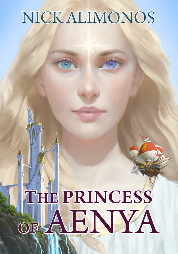 PRINCESS OF AENYA NOVEL - PAPERBACK