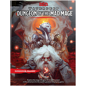 DUNGEONS AND DRAGONS 5E RPG: WATERDEEP - DUNGEON OF THE MAD MAGE HARDCOVER