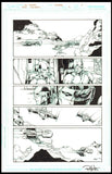 Rob Hunter and Ed Benes Page 4 of 'Pure Rage' from Red Lanterns #2