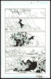 Rob Hunter and Ed Benes Page 7 of 'Pure Rage' from Red Lanterns #2