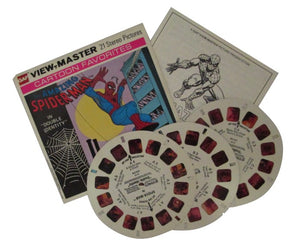 Amazing Spider-Man in 'Double Identity' View-Master Vintage