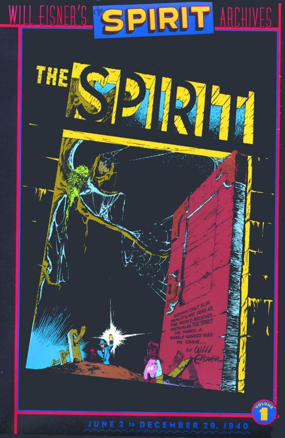 WILL EISNERS SPIRIT ARCHIVES HC VOL 01 - Books