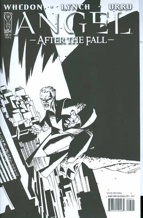 Angel After The Fall #7 10 Copy Oeming Var Incv