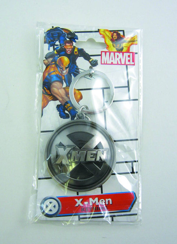 X-MEN SYMBOL PEWTER KEYRING - Toys and Models