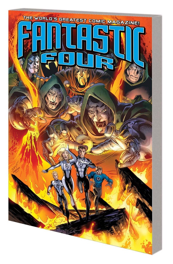 Fantastic Four Tp Vol 03 Doomed