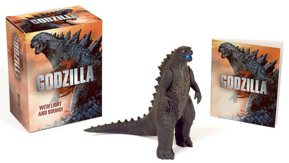 BOOK KIT GODZILLA LIGHT & SOUND MINIATURE - Toys and Models