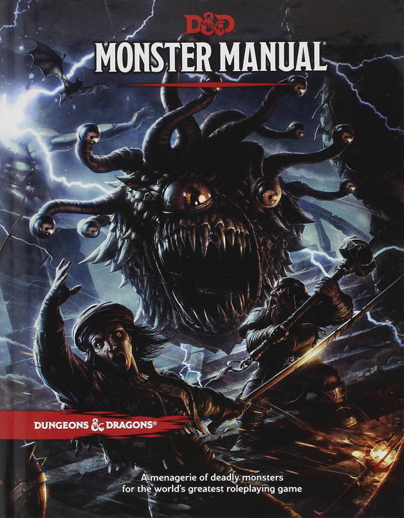 Dungeons And Dragons 5E Rpg: Monster Manual  Core Rulebook