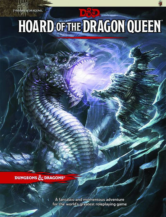 Dungeons And Dragons 5E Rpg: Hoard Of The Dragon Queen