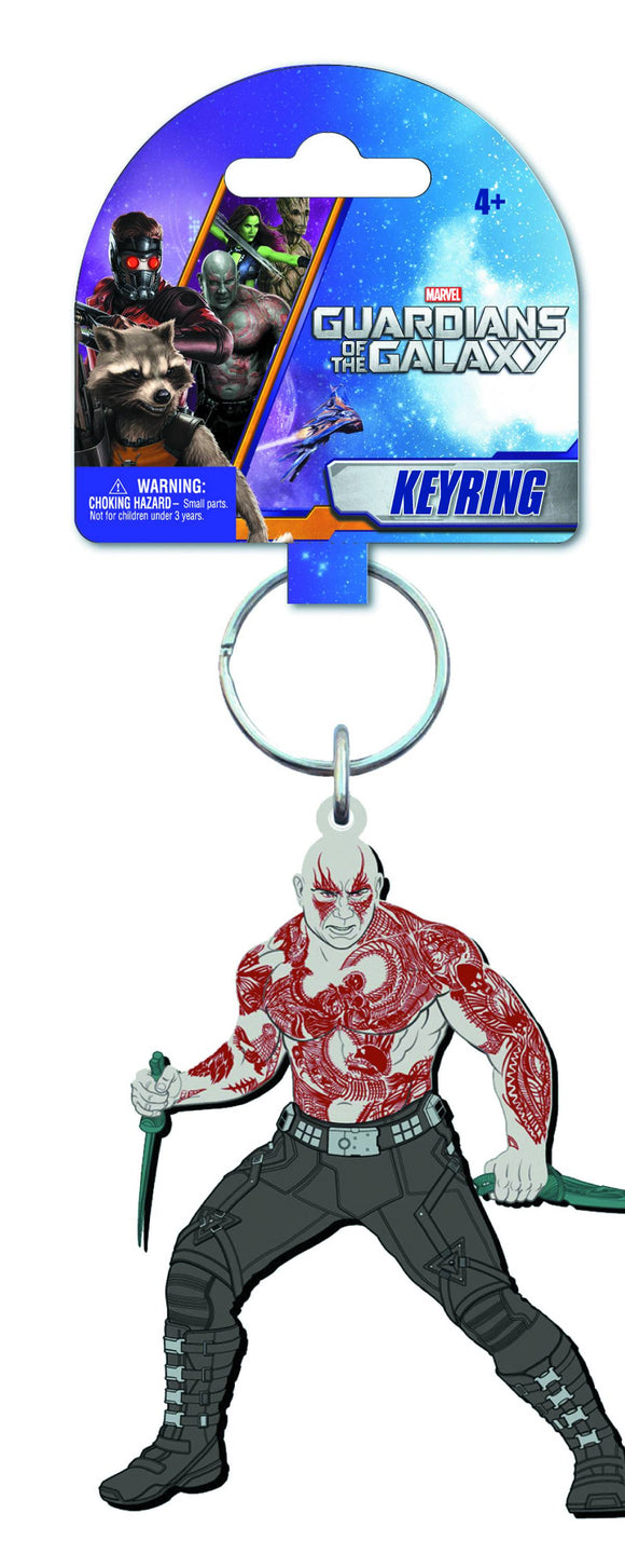 GOTG DRAX SOFT TOUCH PVC KEYRING - Toys and Models