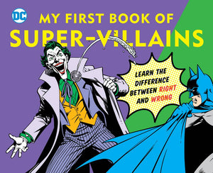 Dc My First Book Of Super Villains Board Book