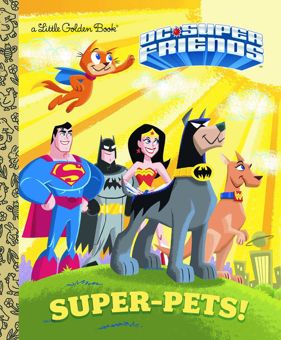 Dc Super Pets Little Golden Book