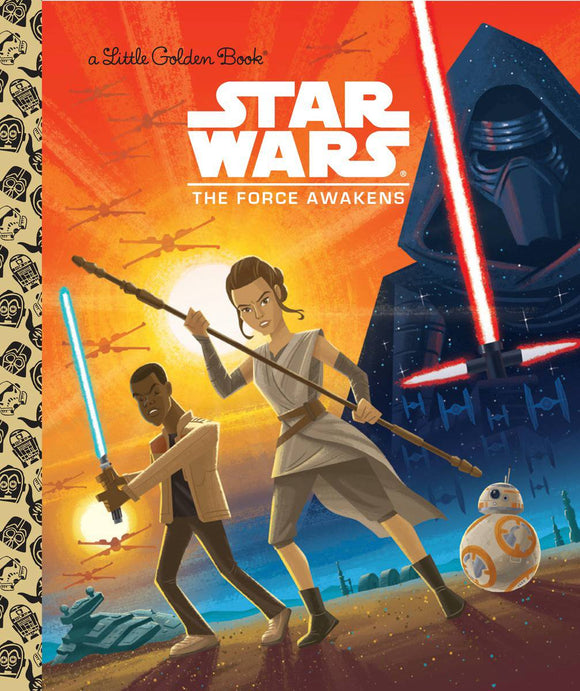 Star Wars 07 Force Awakens Little Golden Book