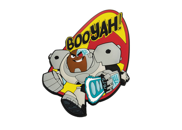 DC MEGA MAGNETS TEEN TITANS GO CYBORG MAGNET - Toys and Models