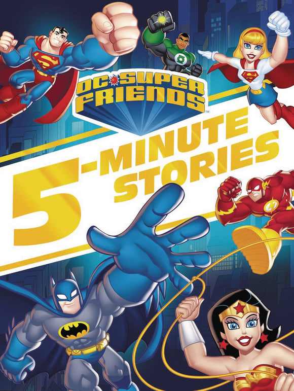 Dc Super Friends 5 Minute Stories Collection Hc
