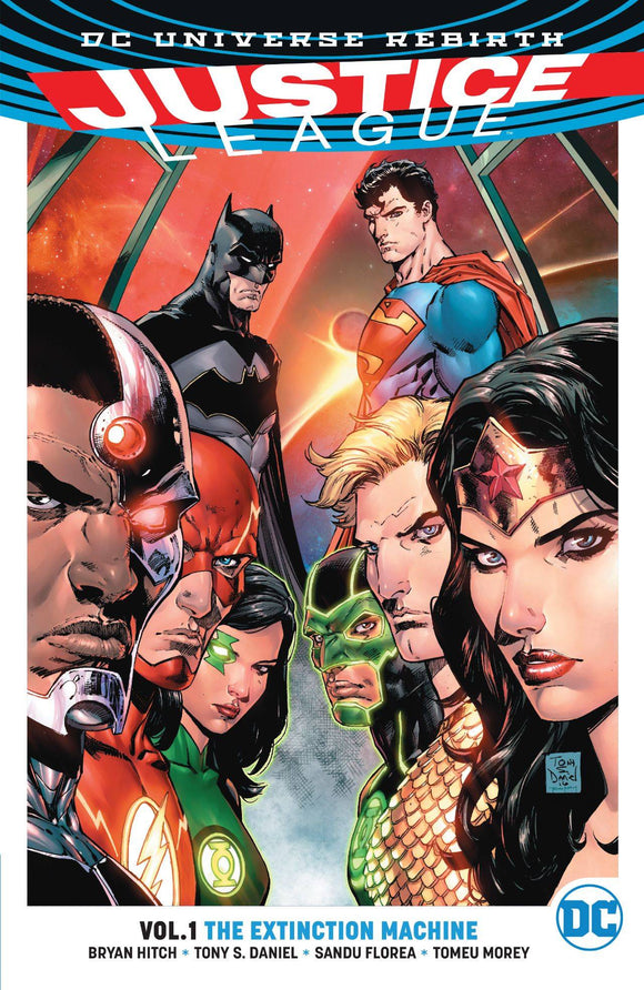 JUSTICE LEAGUE TP VOL 01 THE EXTINCTION MACHINE - REBIRTH - Books