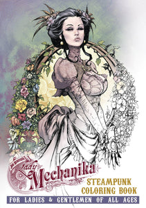 Lady Mechanika Steampunk Coloring Book Tp Vol 01               Adult