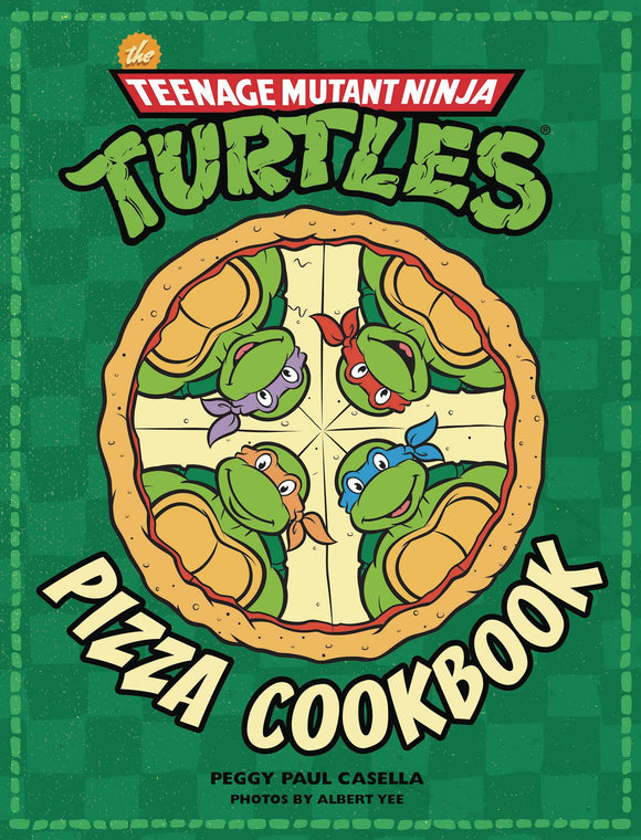 Tmnt Official Pizza Cookbook Hc                                          Teenage Mutant Ninja Turtles