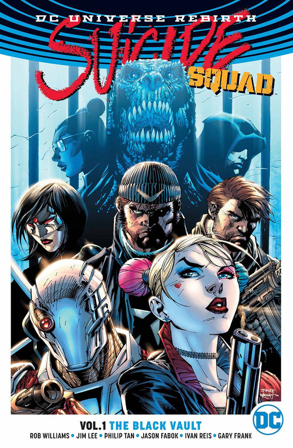 SUICIDE SQUAD TP VOL 01 THE BLACK VAULT - REBIRTH - Books