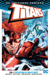 TITANS TP VOL 01 THE RETURN OF WALLY WEST - REBIRTH - Books