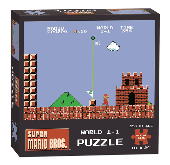 Super Mario Bros World 1-1 Puzzle