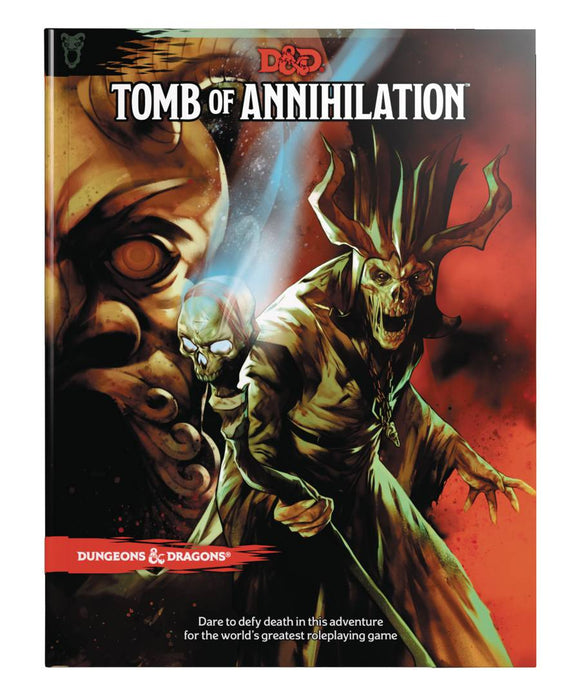 Dungeons And Dragons 5E Rpg: Tomb Of Annihilation