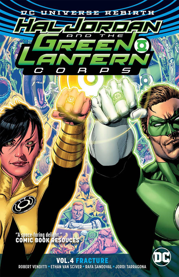 HAL JORDAN & THE GLC TP VOL 04 FRACTURE - REBIRTH - Books