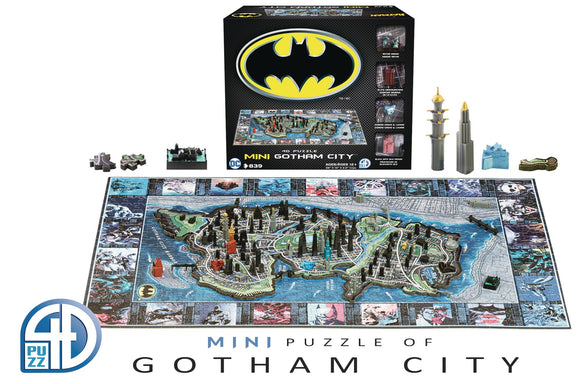 4D Mini Batman Gotham City Puzzle