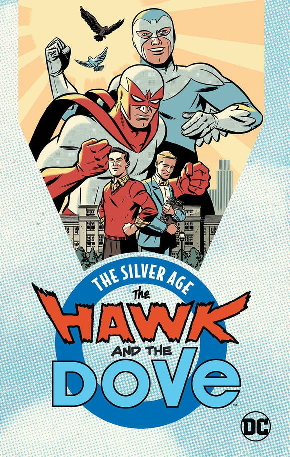 HAWK AND DOVE THE SILVER AGE TP - Books
